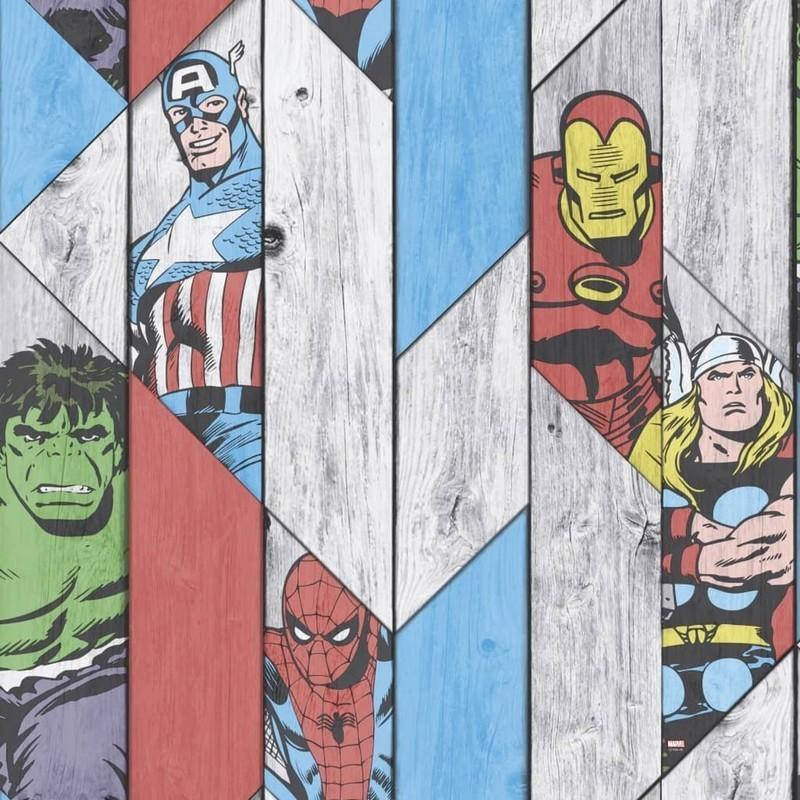 Individual Kids@Home - Marvel Wood Panel 102435