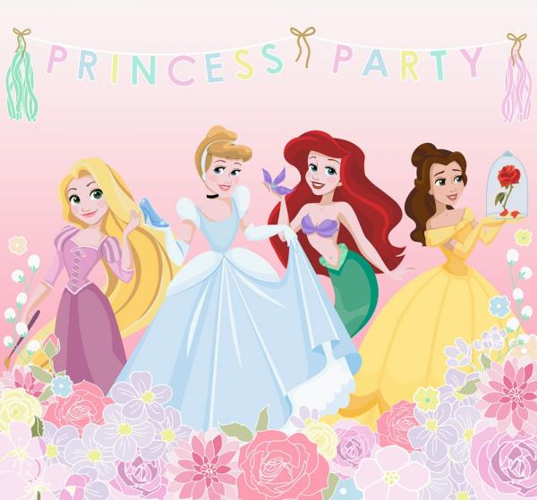 Individual Kids@Home - Princess Party (panel) 111386