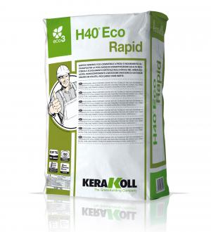 H40 ECO RAPID Grey - šedý 25 kg