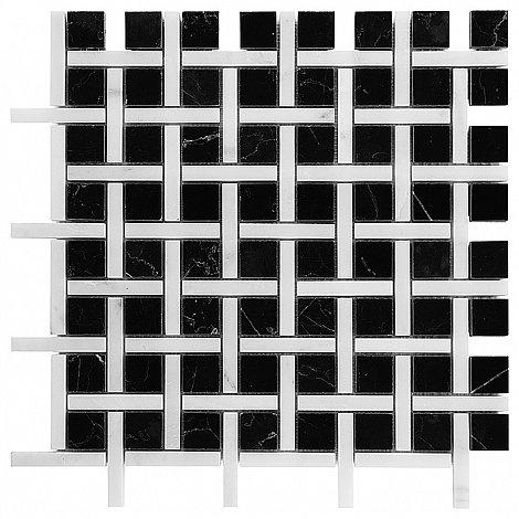 PURE BLACK BW02 (30,5 x 30,5cm/1ks)