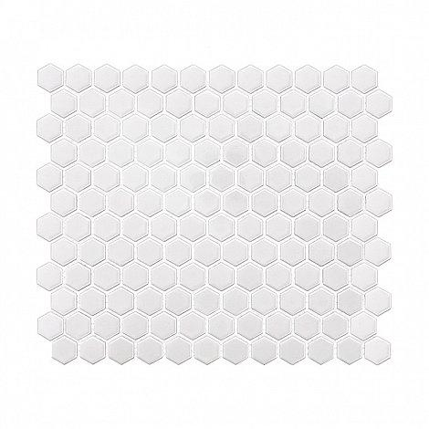 MINI HEXAGON white (30 x 26cm/1ks)