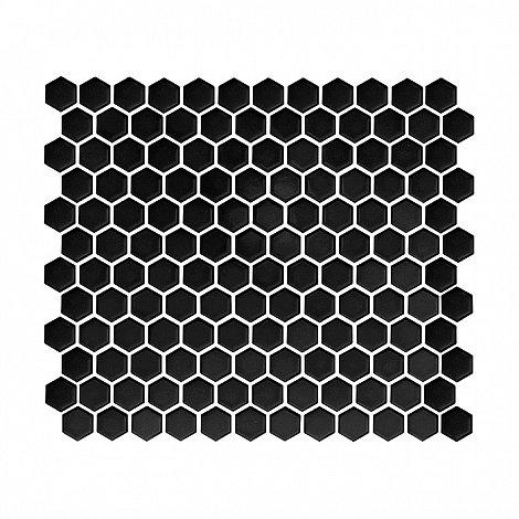 MINI HEXAGON black (30 x 26cm/1ks)