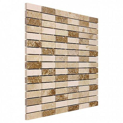 TRAVERTINE BLOCK MIX 48 (30,5 x 30,5cm/1ks)